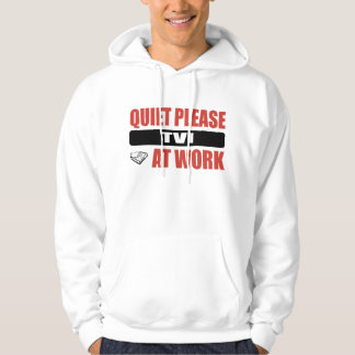 Quiet Please TVI At Work Hooded Pullover