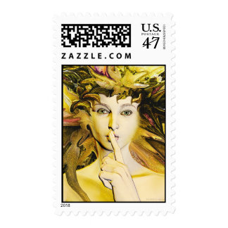 quiet postage