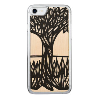 Quiet Protected Knowing Plentiful Carved iPhone 7 Case