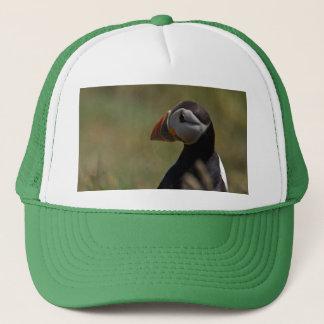 Quiet Puffin Trucker Hat
