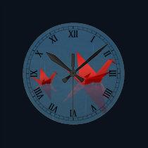 Quiet Rainy Day Clock