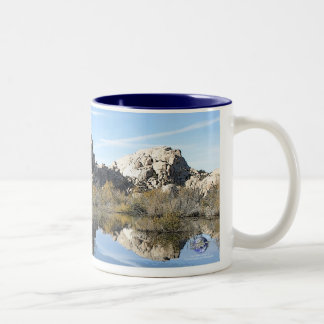 QUIET REFLECTION Two-Tone COFFEE MUG