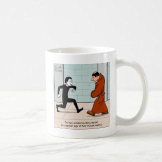 """Quiet Respect"" Classic White Coffee Mug"