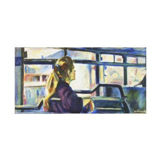 Quiet Ride Gallery Wrap Canvas