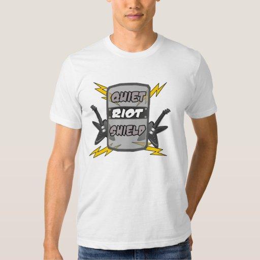 Quiet Riot Shield T-shirt