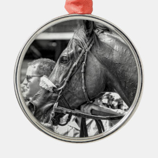 Quiet Ruler Metal Ornament