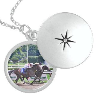 Quiet Ruler runs down  Flat Jack Locket Necklace