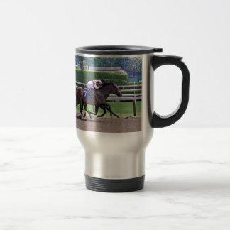 Quiet Ruler runs down Flat Jack Travel Mug