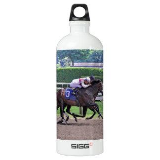 Quiet Ruler runs down Flat Jack Water Bottle