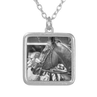 Quiet Ruler Silver Plated Necklace