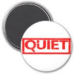 Quiet Stamp Magnet