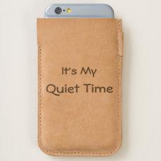 Quiet Time iPhone 6/6S Case