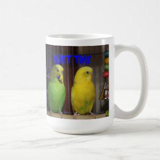 QUIET TIME PARAKEET Mug