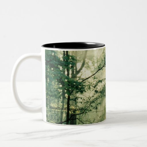 Quiet Walkway Two-Tone Coffee Mug