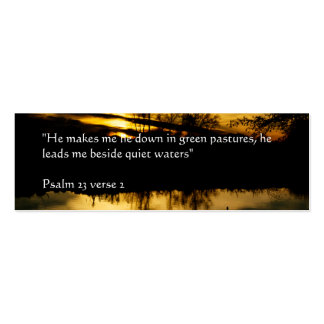 Quiet Waters | Golden sunset at Flatford Mill Mini Business Card