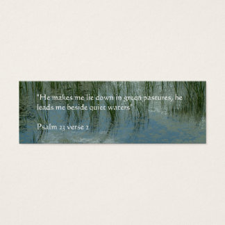 Quiet Waters | Mini Business Card
