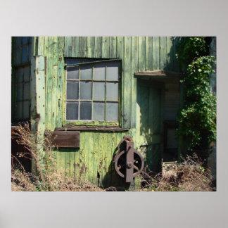 Quiet Window I Poster