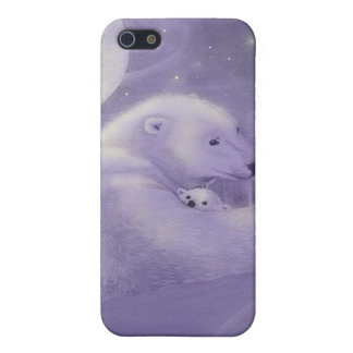 Quiet Winter Polar Bear iPhone 4 Case