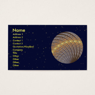 Quiet Wolf Moon Business Card