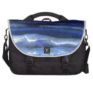 Quiet Wonder Night Ocean Beach Surf Commuter Bag