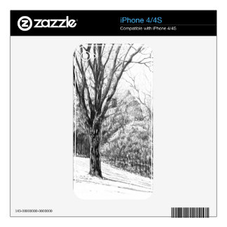 Quiet Woods Skins For iPhone 4S
