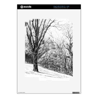 Quiet Woods iPad 2 Decals