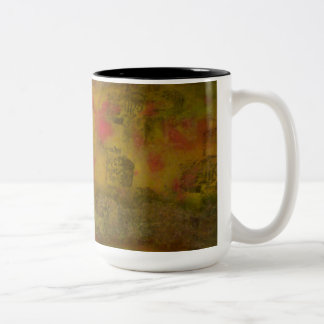 Quiet Yard Two Tone Mug