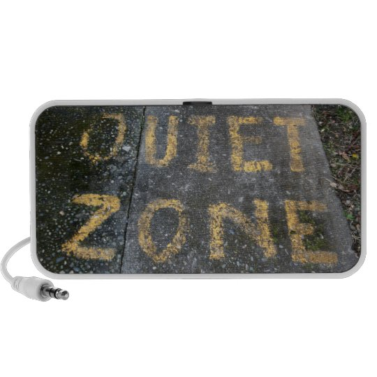 Quiet Zone Portable Speaker