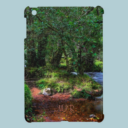 Quietly Flows The River - Dartmoor National Park iPad Mini Cover