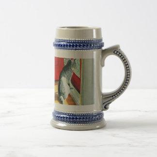 Quigley the Doorcat Stein Coffee Mug
