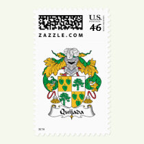 Quijada Family Crest Stamps