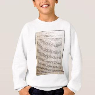 Quijote for everyone sweatshirt