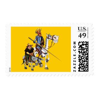 QUIJOTE, SANCHO - Cervantes - sellos Stamps