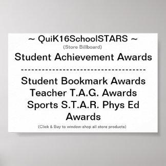 QuiK16SchoolSTARS -- Store Billboard -- Poster