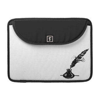Quill and Ink Bottle Sleeve For MacBook Pro
