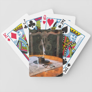 Quill and Spectacles Bicycle Playing Cards