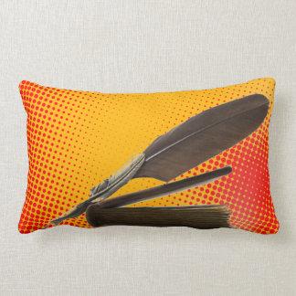 Quill antique writer vintage quills cushion
