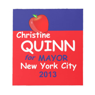 Quill NYC Mayor 2013 Notepad