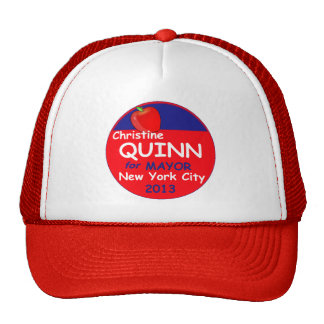 Quill NYC Mayor 2013 Trucker Hat