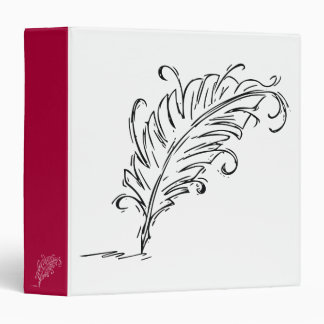 Quill Pen 3-Ring Binder