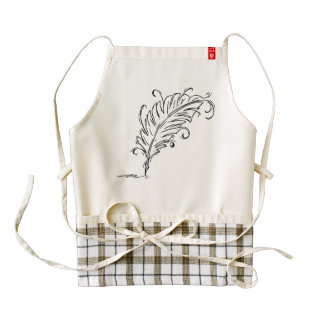 Quill Pen Apron