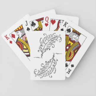 Quill Pen Playing Cards