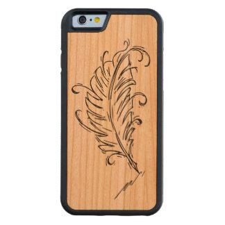 Quill Pen Wood Smartphone Case
