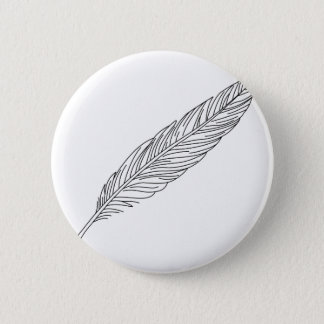 Quill Pinback Button