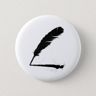 Quill with Ink Button
