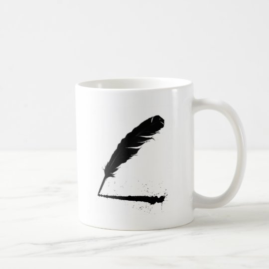 Quill with Ink Coffee Mug