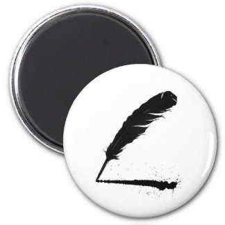 Quill with Ink Magnet