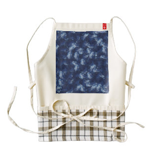 Quilled flowers zazzle HEART apron
