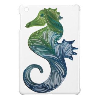 Quilled Seahorse - iPad mini case