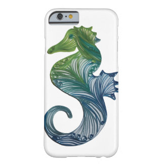 Quilled Seahorse - iPhone case